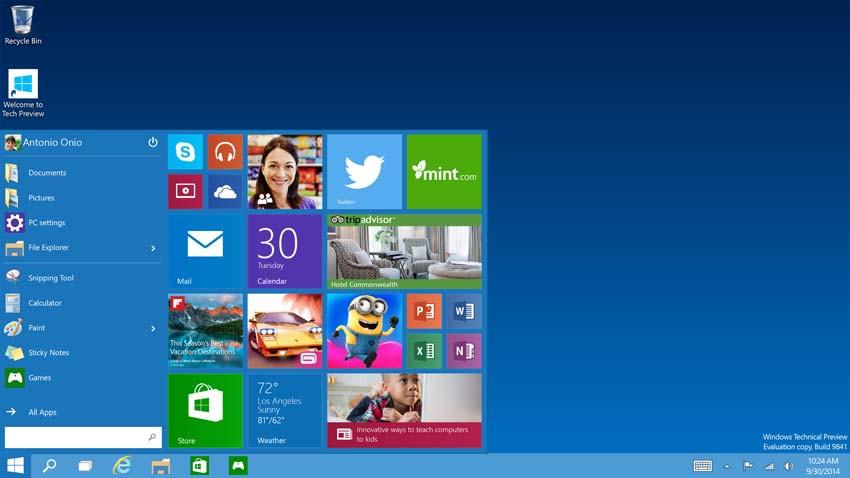 Świat czekał na Windows 9. Zobaczył... Windows 10