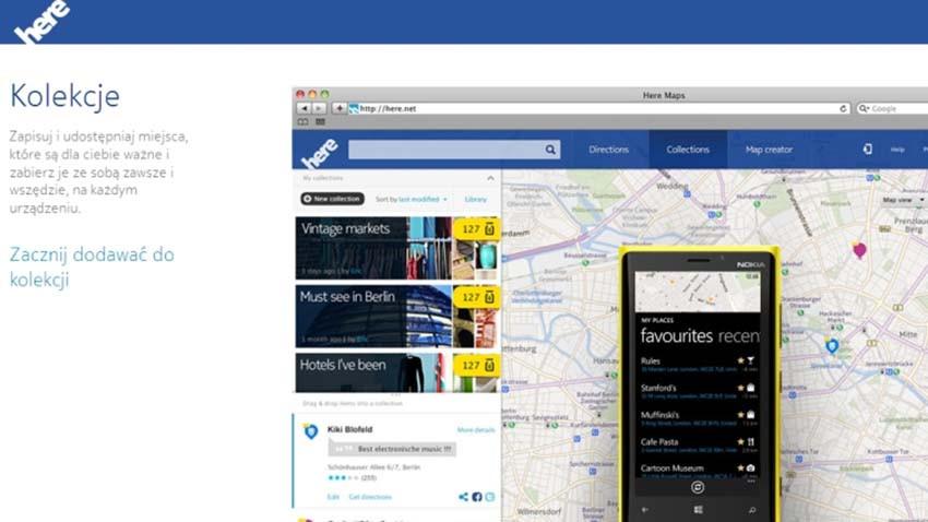 Mapy Nokia Here dostępne dla niemal wszystkich