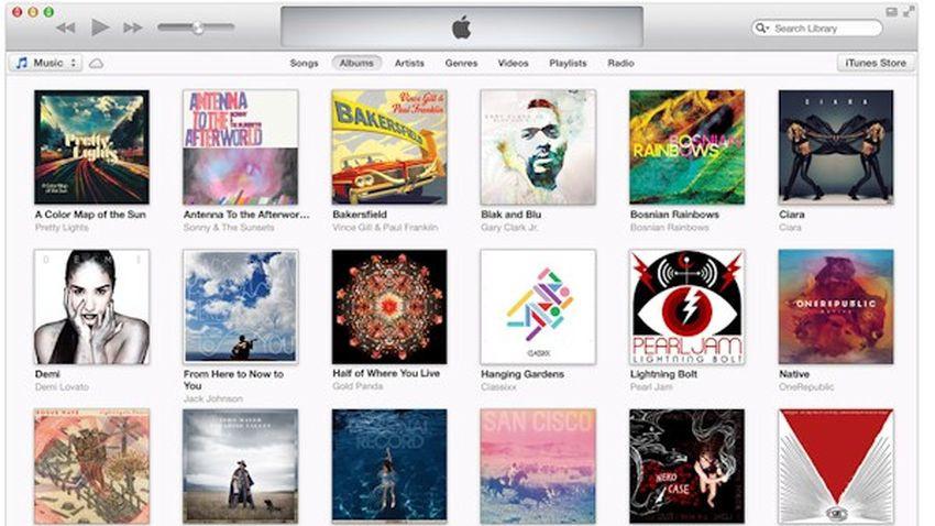 iTunes - wyraźny spadek sprzedaży utworów muzycznych