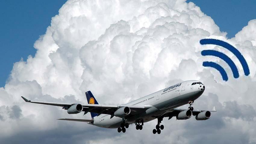 Internet w przestworzach - Wi-Fi w samolotach Lufthansy