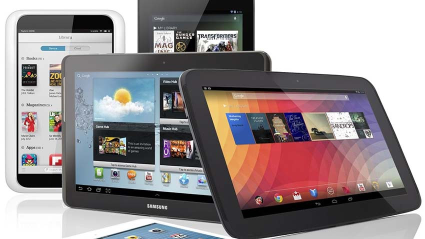 Sprzedaż tabletów na świecie w III kwartale 2014