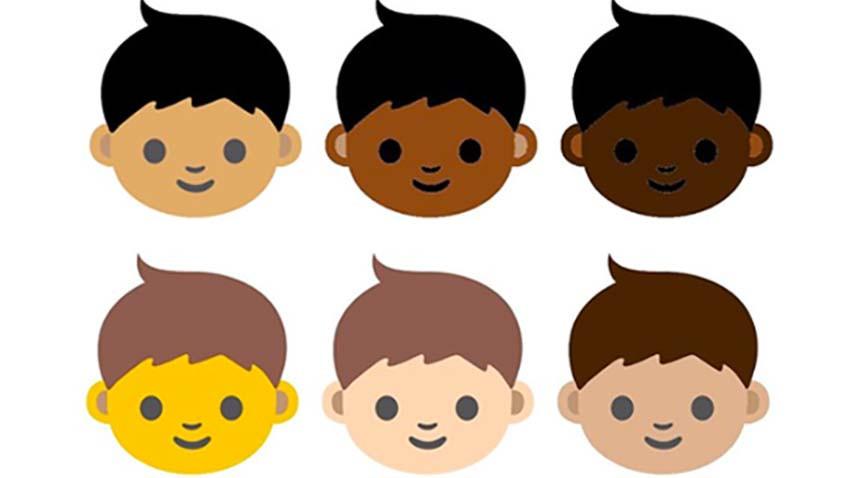 Ikony Emoji zaoferują szerszy wybór kolorów skóry
