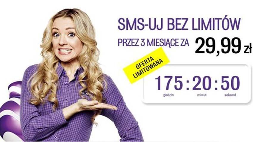 Promocja Play: Formuła Unlimited 250MB z SMS/MMS gratis