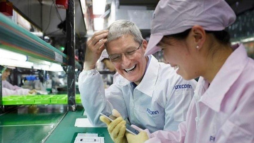 Foxconn zajmie się produkcją wyświetlaczy dla Apple