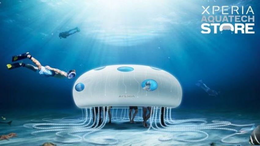 Sony otworzyło pierwszy podwodny sklep z urządzeniami mobilnymi