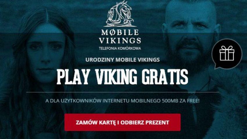 Promocja Mobile Vikings: Oferta urodzinowa