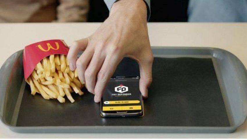 Aplikacja mobilna McDonald's pozwala udaremnić kradzież frytek