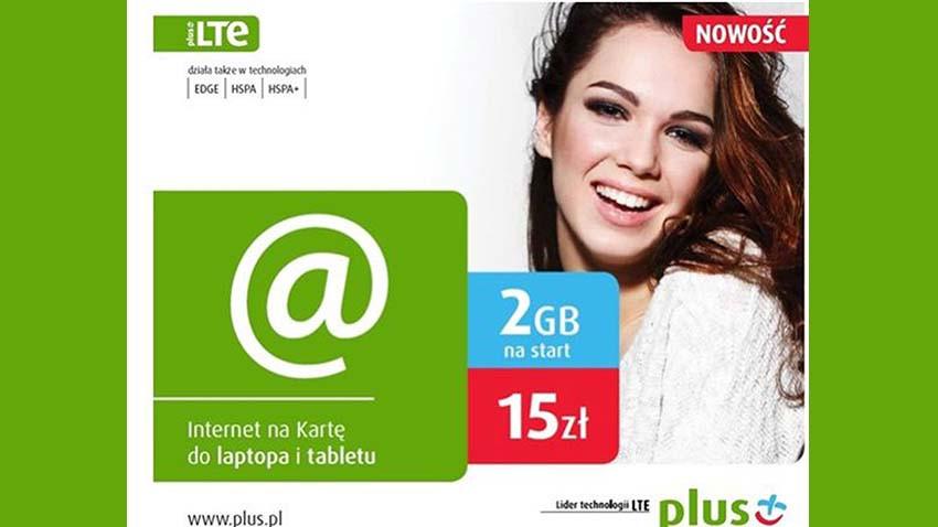 Nowe startery Plus Internet na Kartę z dodatkowym pakietem 2 GB