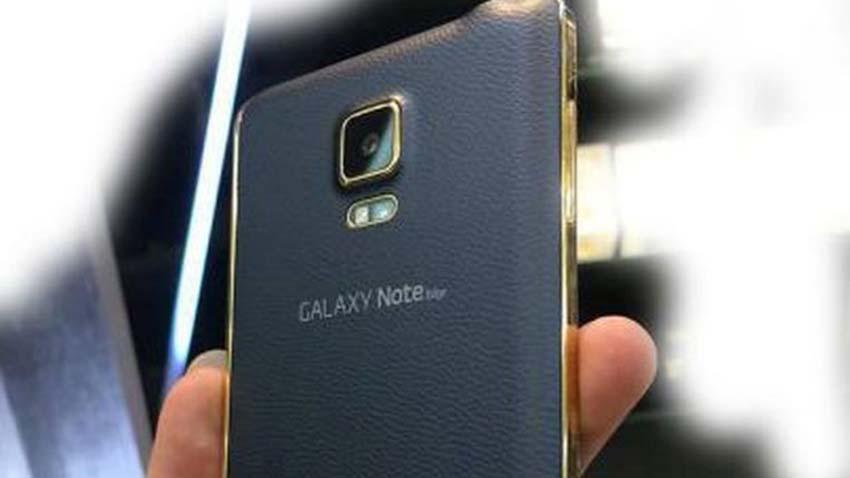 Galaxy Note Edge kolejnym ozłoconym Samsungiem