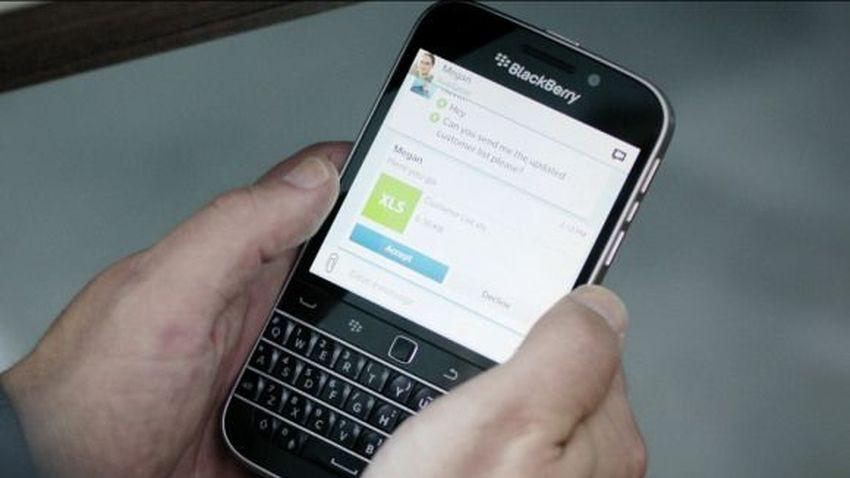 Reklamy BlackBerry Classic pokazują