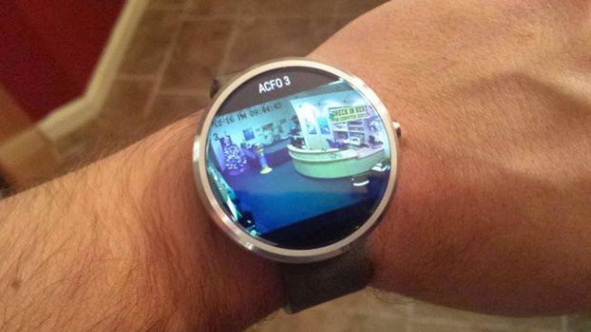 Zegarki z Android Wear otrzymały wsparcie dla podglądu kamer sieciowych