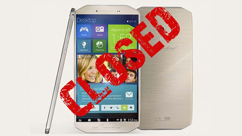 Niemiecki Linshof zakończył działalność i anulował projekt interesującego smartfona