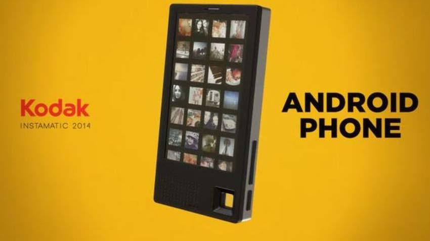 Kodak produkuje swój pierwszy smartfon