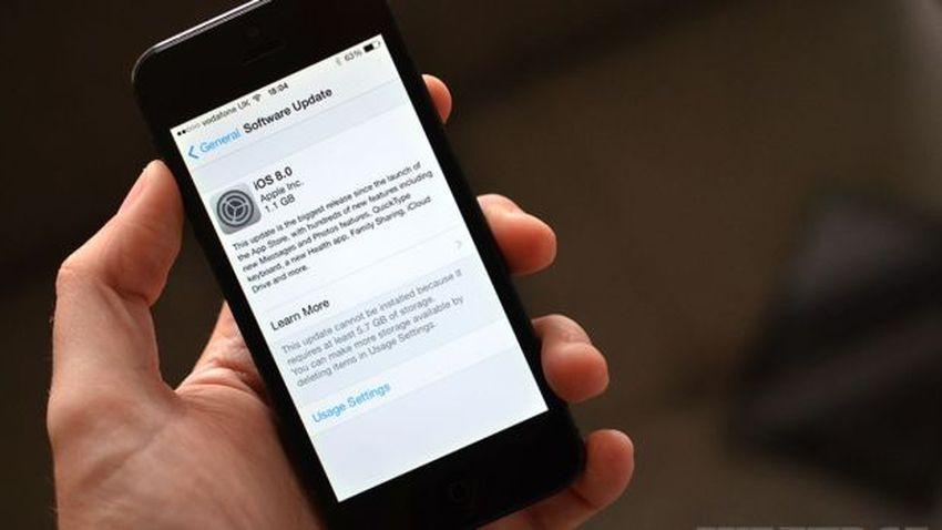 Apple oskarżone o ilość miejsca zajmowanego przez iOS 8