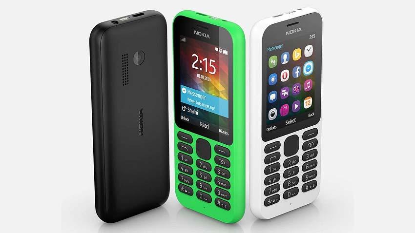 Microsoft Nokia 215 - najtańszy telefon z dostępem do Internetu