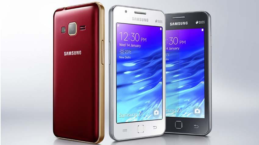 Samsung Z1 oficjalnie - tani smartfon z systemem Tizen OS