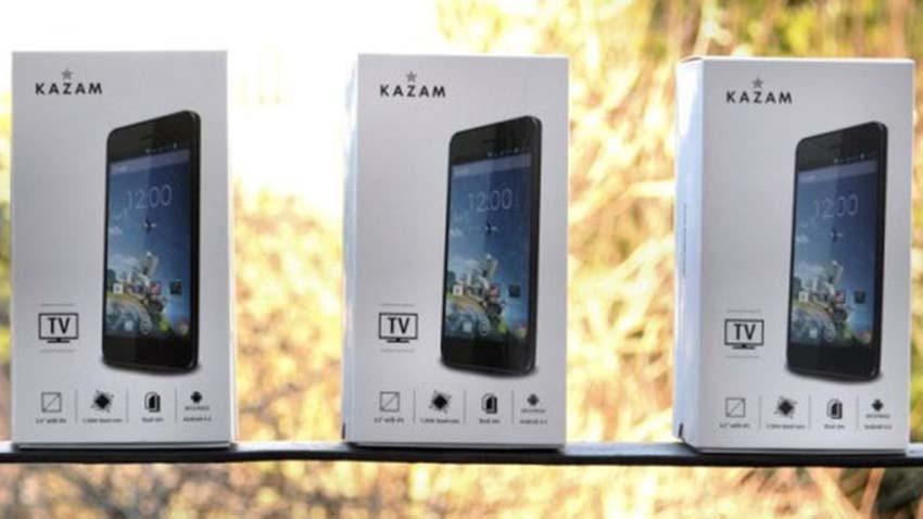 Konkurs - pokaż jakbyś oglądał(a) telewizję poza domem. Smartfony Kazam TV do wygrania!