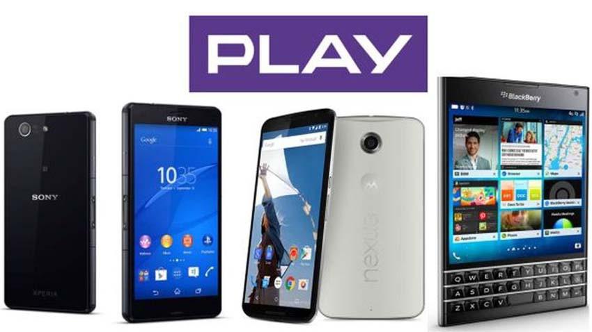 Nowe smartfony w ofercie Play