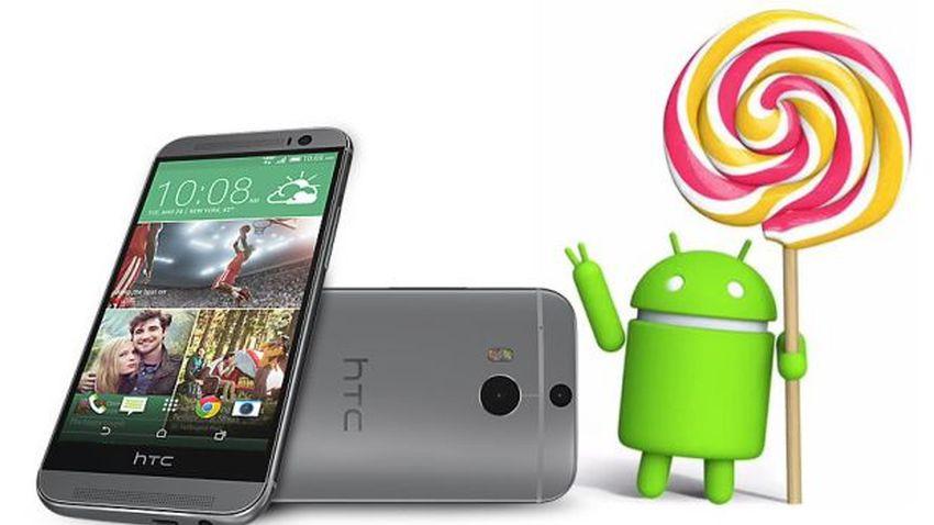 HTC One M8 otrzymuje aktualizację do Lollipopa