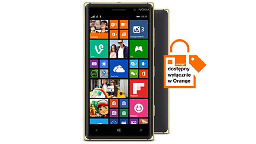 Nokia Lumia 830 na wyłączność w sieci Orange