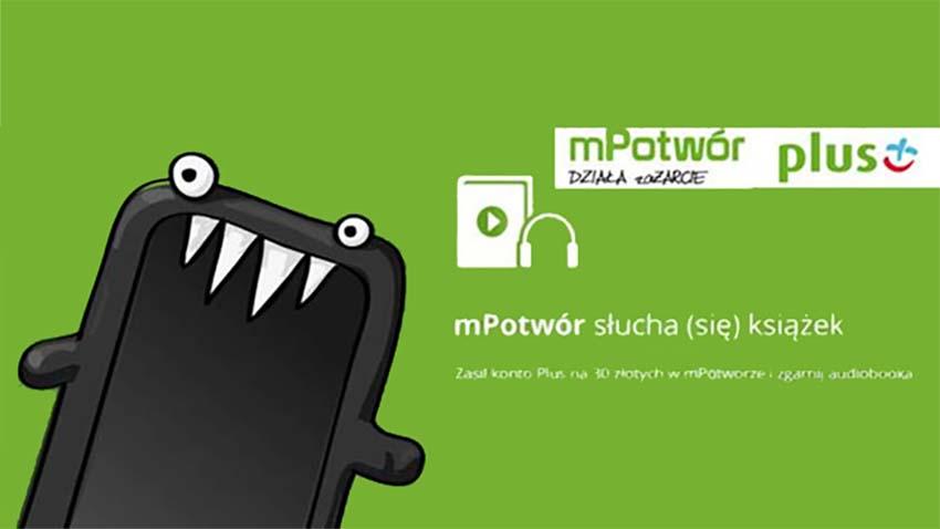 Promocja Plus: Darmowe audiobooki za doładowanie konta przez mPotwora