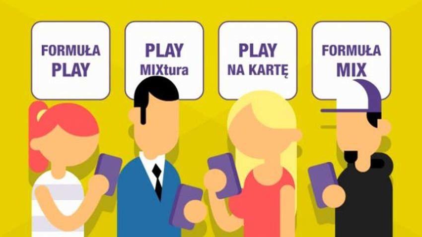 Nowy standard w Play  nielimitowane połączenia i SMS-y we wszystkich taryfach