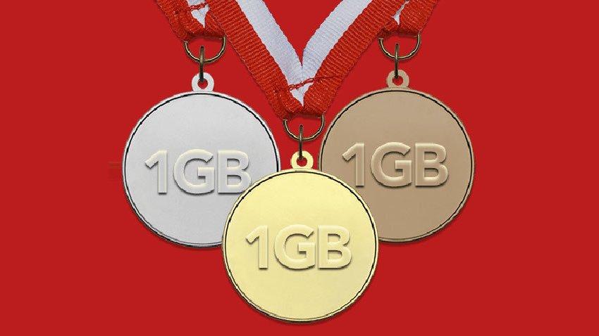 Photo of Promocja Plus: Gigabajty za medale