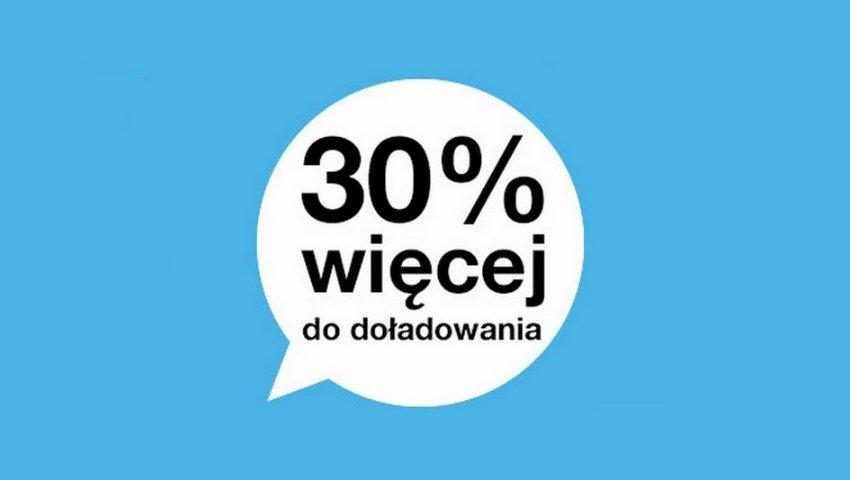 Photo of Promocja Orange: 30% gratis za doładowanie internetowe