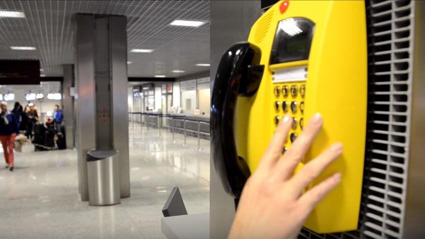 Photo of Bezpłatne budki telefoniczne na lotnisku w Krakowie