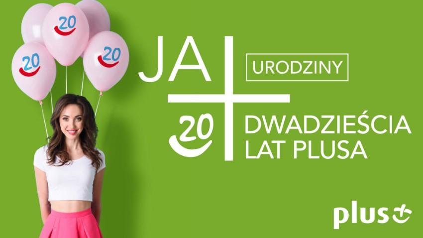 Photo of Prezenty od Plusa z okazji 20-lecia