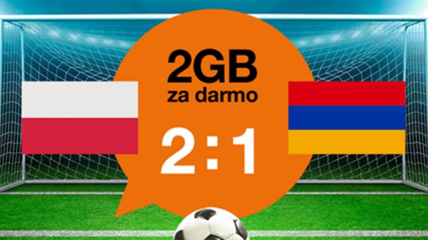 Photo of 2 GB od Orange za zwycięstwo z Armenią