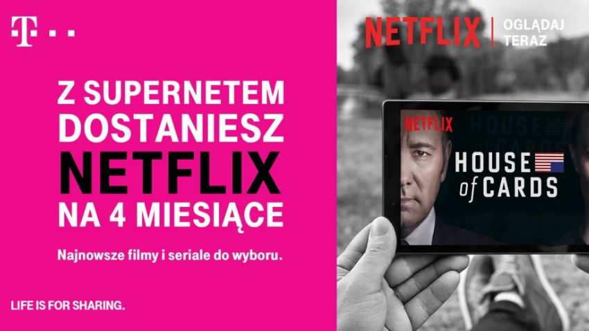 Photo of T-Mobile: Netflix w ofercie Supernet