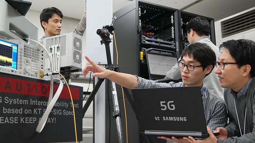Photo of Samsung: Pierwsze połączenie 5G za pośrednictwem sieci end-to-end 5G