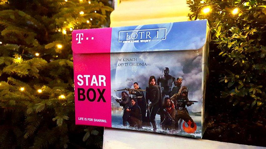 Photo of T-Mobile: Kolekcjonerski Star Box z gadżetami z filmu Łotr 1