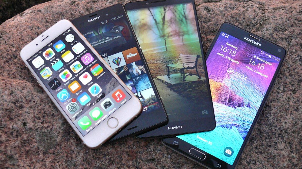 Fototest – Ustępujący tytani (iPhone 6, Mate 7, Note 4, Xperia Z3)