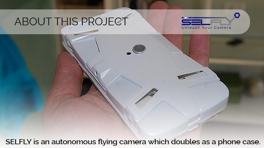 Photo of Selfly: latający pokrowiec do smartfona