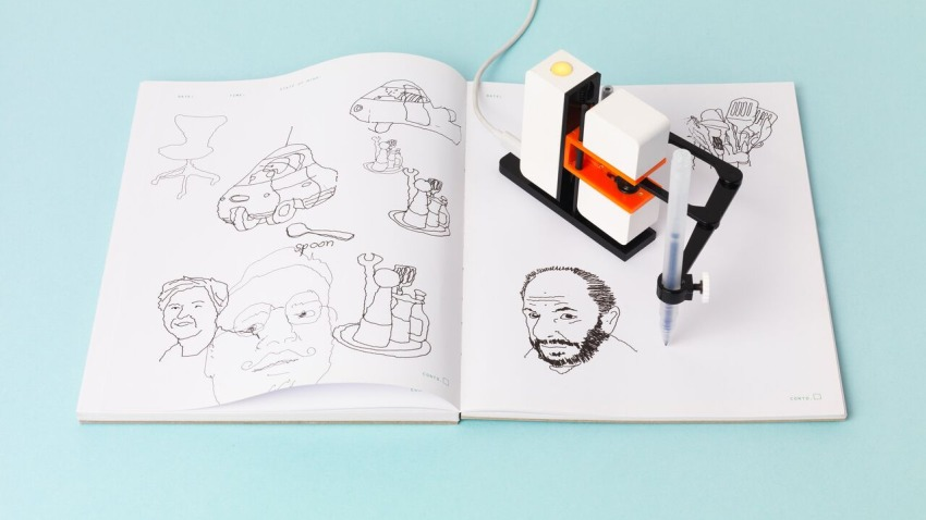 Photo of Mobilny artysta Line-us, czyli malarz z jedną ręką