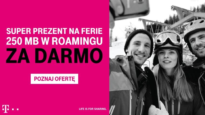 Photo of 250 MB w roamingu na ferie z nowym starterem T-Mobile