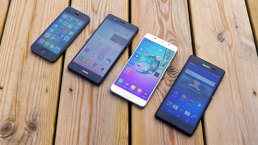 Fototest Selfie premium w dobrej cenie (iPhone 5S, Huawei P9 Lite, Galaxy A5 2016, Xperia M5)