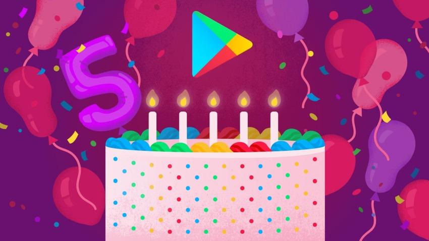 Photo of Piąte urodziny Sklepu Play: Google przedstawia listy TOP5 w USA