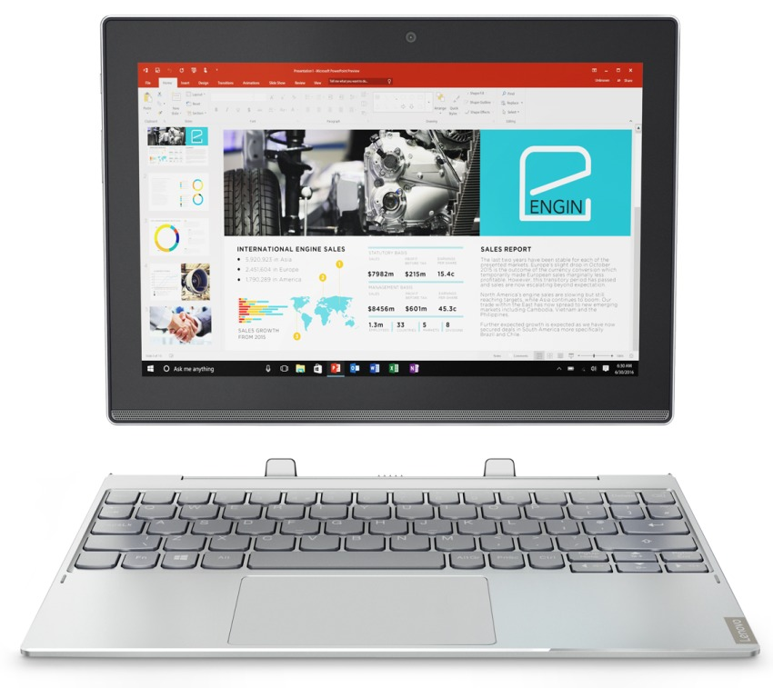 lenovo-miix-320-6-1-850x389 Tablet do pracy i do multimediów: Lenovo Miix 320 na MWC 2017