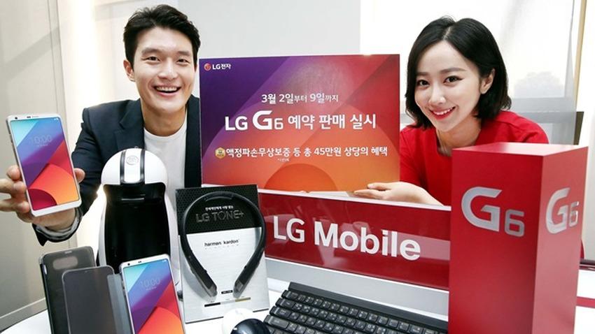 Photo of LG G6: 40 000 zamówień w 4 dni w Południowej Korei