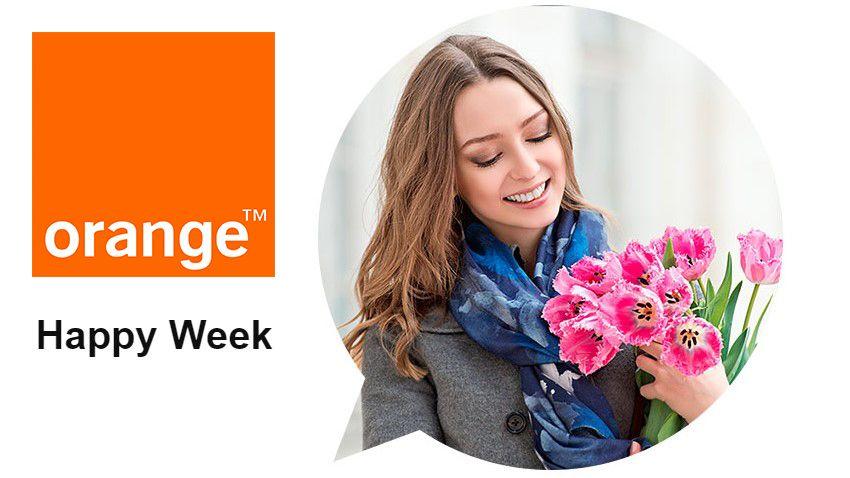 Photo of Happy Week w Orange: Internet z akcesoriami za złotówkę