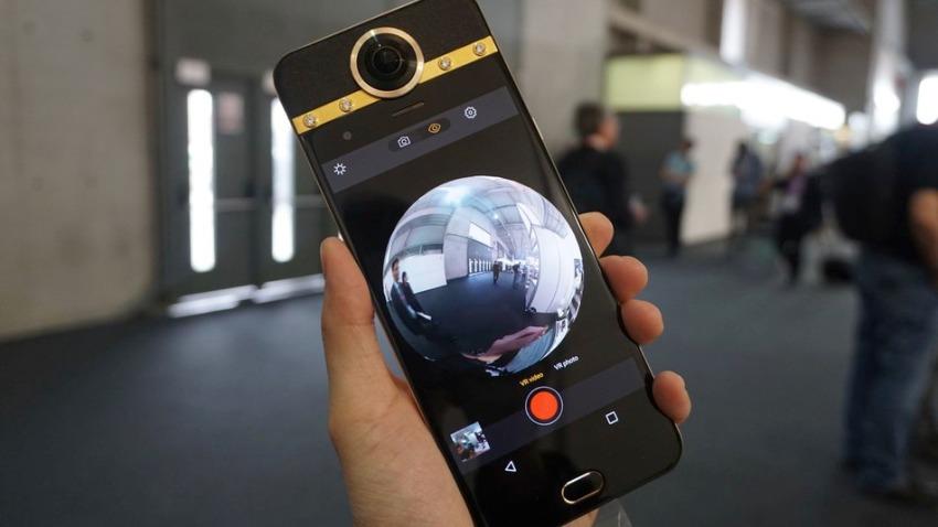 Photo of Protruly Darling: pierwszy smartfon z wbudowaną kamerą 360 stopni