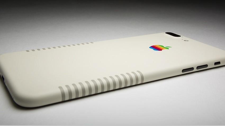 retro_iphone7plus_-850x478px1-850x478 Firma ColorWare przedstawia iPhone'a 7 Plus, który wygląda jak stary Macintosh
