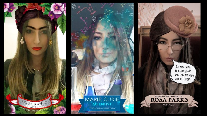 Photo of Snapchat na Dzień Kobiet: bądź jak Frida Kahlo, Marie Curie lub Rosa Parks
