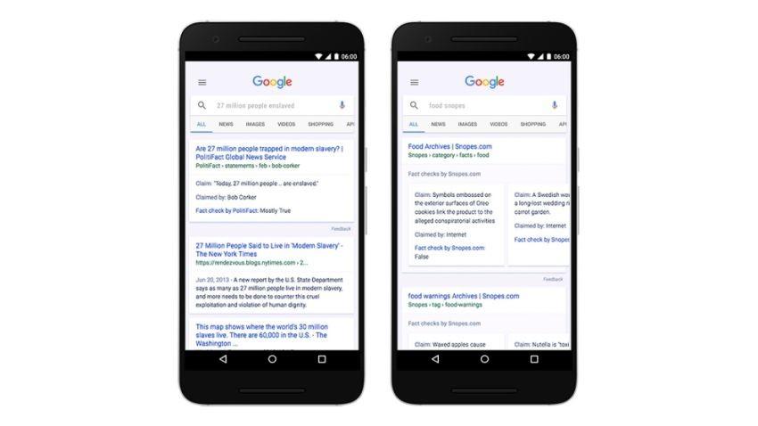 Google rozpoczyna walkę z fałszywymi wiadomościami