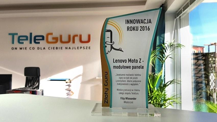 Innowacja roku 2016 - Lenovo Moto Z