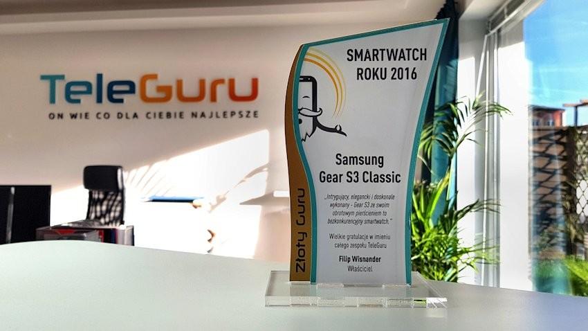 Smartwatch roku 2016 - Samsung Gear S3 Classic