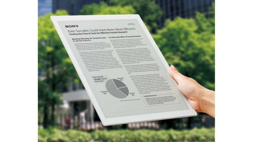 Sony przedstawia ogromny tablet z e-papierowym ekranem